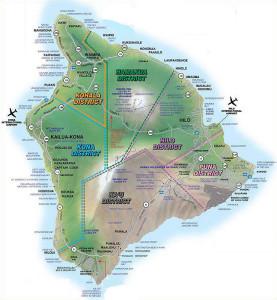 Big Island Map